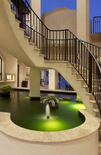 Cool space saving staircase designs ideas 35