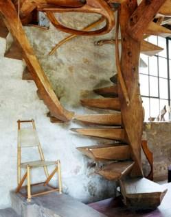 Cool space saving staircase designs ideas 37