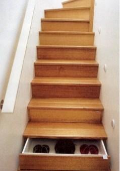 Cool space saving staircase designs ideas 43