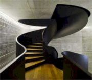 Cool space saving staircase designs ideas 45