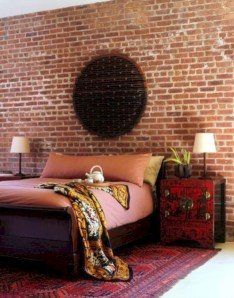 Cozy bedrooms design ideas with brilliant accent walls 11