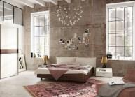 Cozy bedrooms design ideas with brilliant accent walls 19