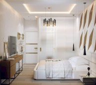 Cozy bedrooms design ideas with brilliant accent walls 20