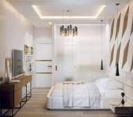 Cozy bedrooms design ideas with brilliant accent walls 20