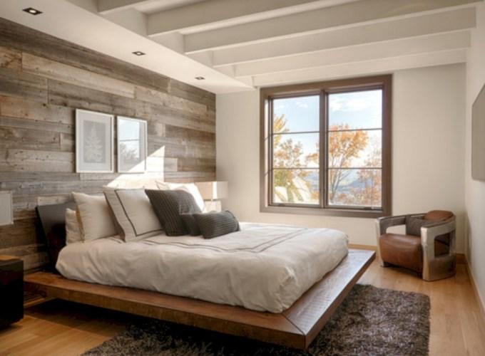 Cozy bedrooms design ideas with brilliant accent walls 29