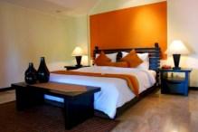 Cozy bedrooms design ideas with brilliant accent walls 37