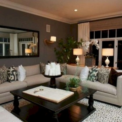 Creative living rooms design ideas for your inspiration 29