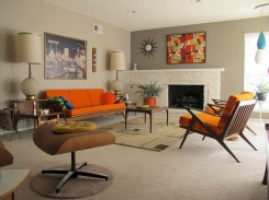 Creative living rooms design ideas for your inspiration 33