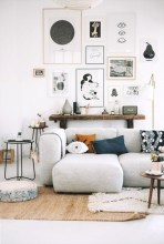 Creative living rooms design ideas for your inspiration 41