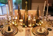 Fabulous christmas decoration ideas using candles 20