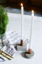 Fabulous christmas decoration ideas using candles 24
