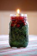Fabulous christmas decoration ideas using candles 31