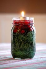 Fabulous christmas decoration ideas using candles 31