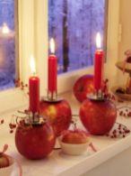 Fabulous christmas decoration ideas using candles 32