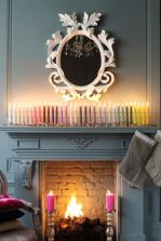 Fabulous christmas decoration ideas using candles 37