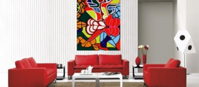 Gorgeous red and white living rooms ideas 04