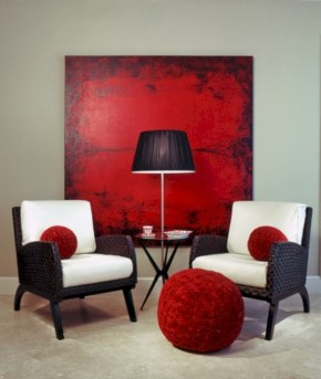 Gorgeous red and white living rooms ideas 09