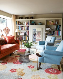 Gorgeous red and white living rooms ideas 14