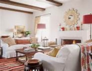 Gorgeous red and white living rooms ideas 24