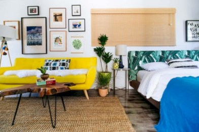 Gorgeous yellow accent living rooms inspiration ideas 09