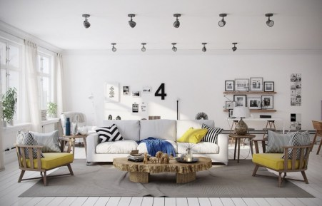 Gorgeous yellow accent living rooms inspiration ideas 28