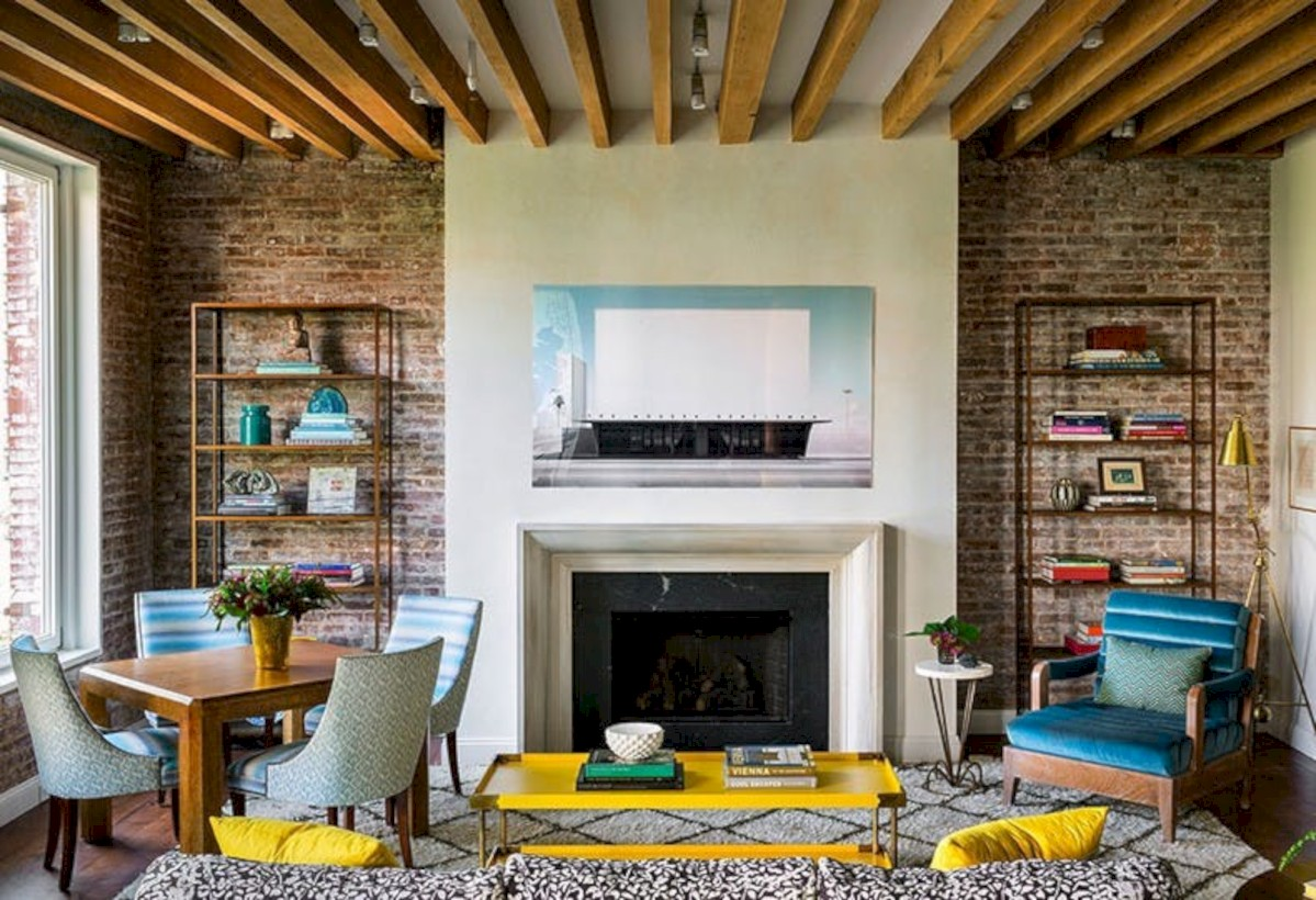Gorgeous yellow accent living rooms inspiration ideas 32