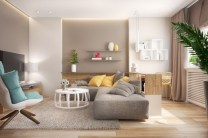 Gorgeous yellow accent living rooms inspiration ideas 33
