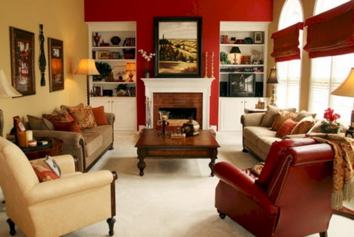 Gorgeous yellow accent living rooms inspiration ideas 43
