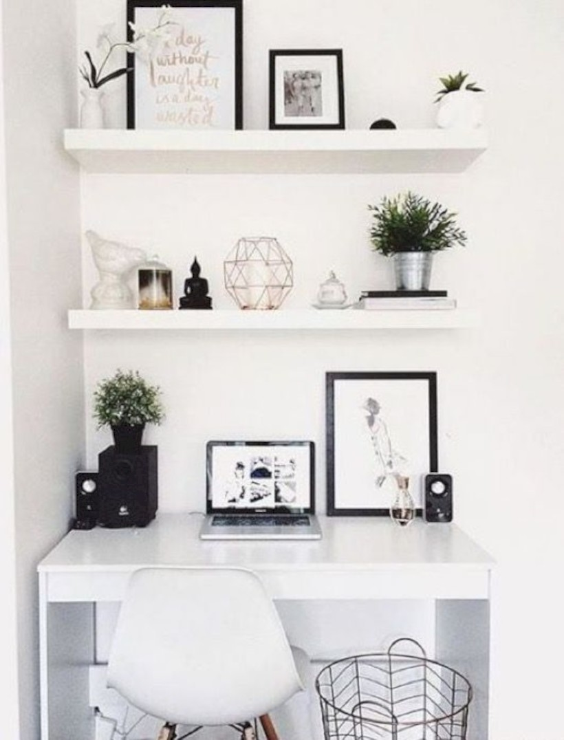 Inspirational home office desks ideas you will totally love 30