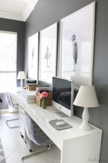 Inspirational home office desks ideas you will totally love 32
