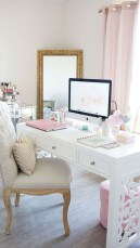 Inspirational home office desks ideas you will totally love 33