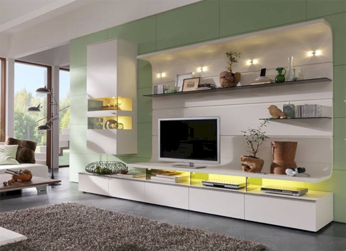 Modern living room wall units ideas with storage inspiration 07