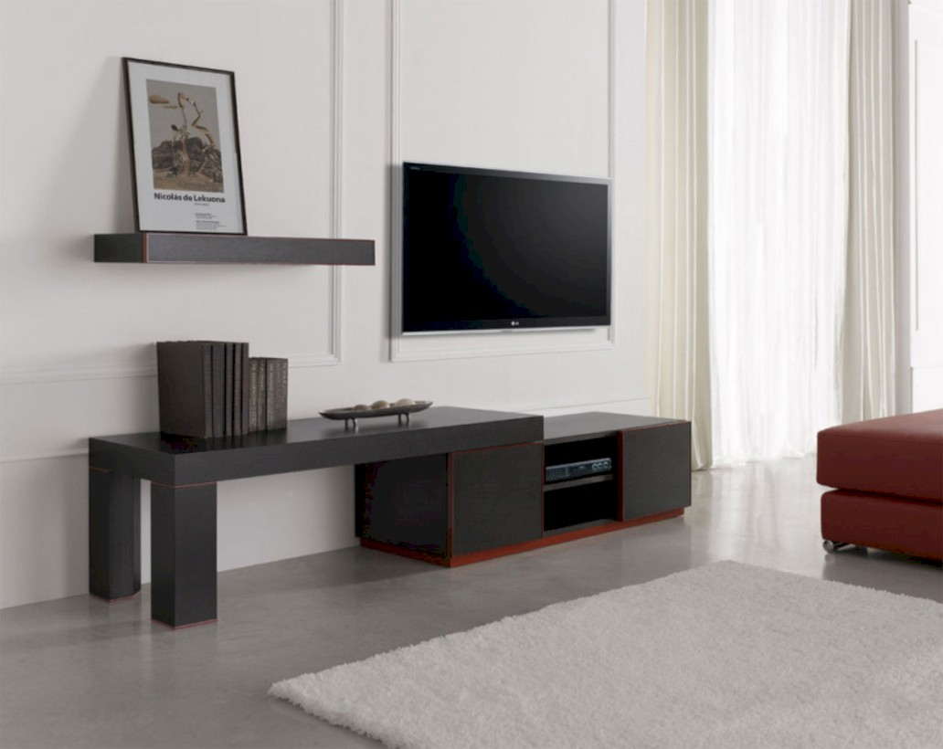 Modern living room wall units ideas with storage inspiration 09