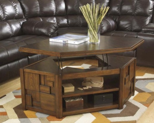 Modern and creative coffee tables design ideas 06