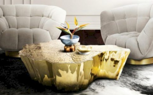 Modern and creative coffee tables design ideas 24