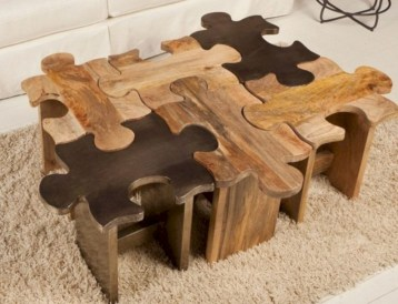 Modern and creative coffee tables design ideas 35