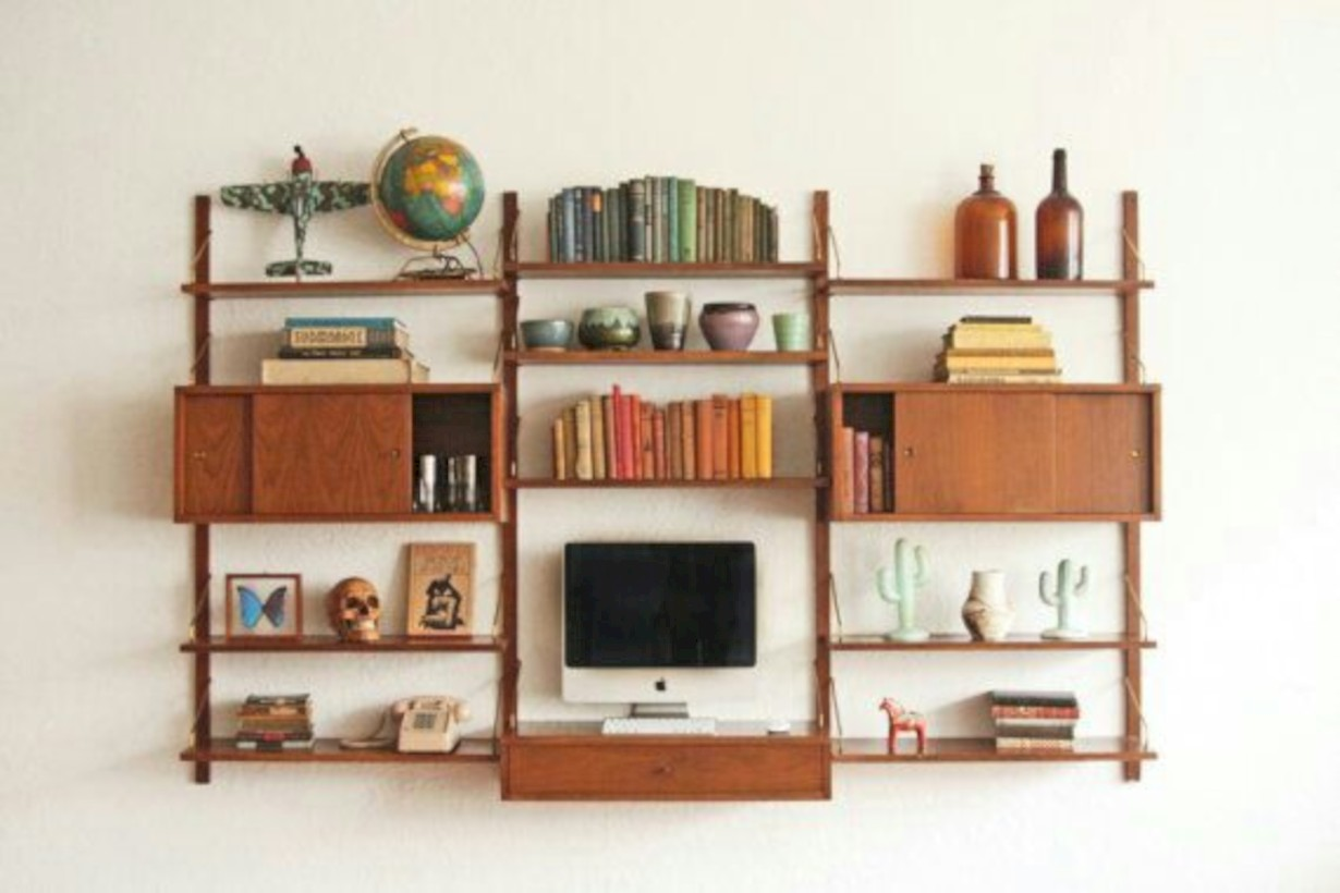 original mid century modern bookcases ideas youu0027ll love 01