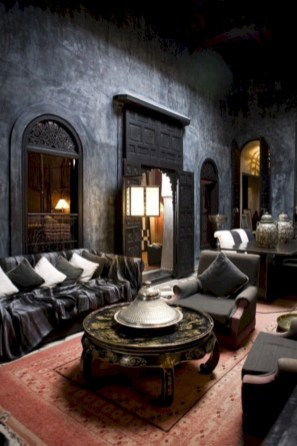 Relaxing moroccan living room decoration ideas 19