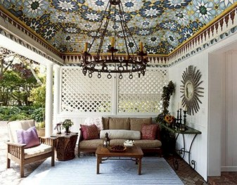 Relaxing moroccan living room decoration ideas 22