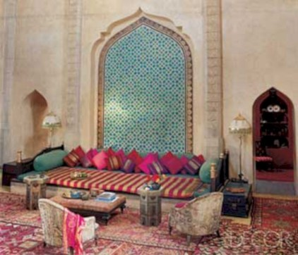 Relaxing moroccan living room decoration ideas 30