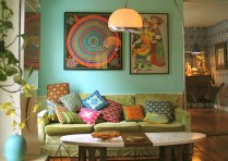 Relaxing moroccan living room decoration ideas 32
