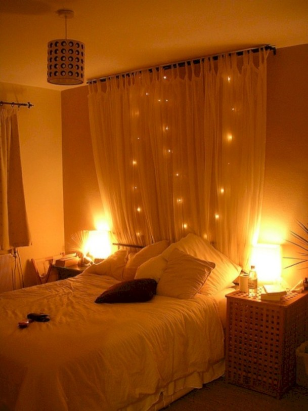 37 Romantic Bedroom Lighting Ideas You Will Totally Love