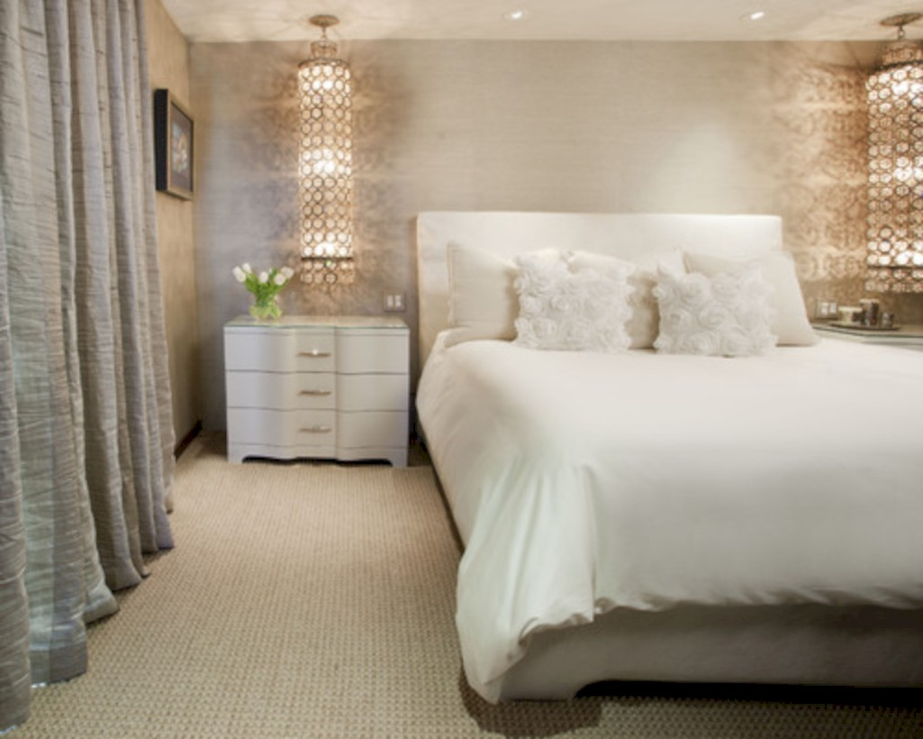 Romantic bedroom lighting ideas you will totally love 26