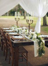Simple rustic christmas table settings ideas 03
