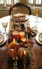 Simple rustic christmas table settings ideas 48