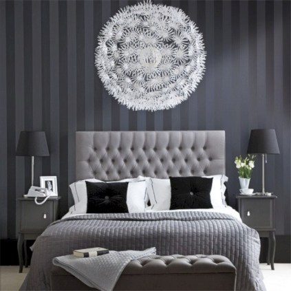Stunning and elegant bedroom lighting ideas 38