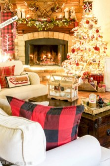 Stunning indoor rustic christmas decoration ideas 02