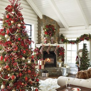 Stunning indoor rustic christmas decoration ideas 14