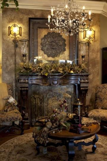 Stunning indoor rustic christmas decoration ideas 18