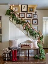Stunning indoor rustic christmas decoration ideas 22